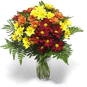 Dikmen ankara çiçek mağazası , çiçekçi adresleri  Karisik çiçeklerden mevsim vazosu