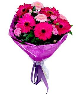 Dikmen ankara çiçek mağazası , çiçekçi adresleri  karışık gerbera çiçeği buketi