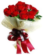 Görsel 12 adet kırmızı gül buketi Ankara Dikmen İlker çiçek yolla , çiçek gönder , çiçekçi