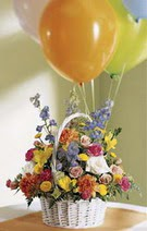 Ankara çiçek satışı Dikmen online çiçekçi , çiçek siparişi  Mevsim çiçekleri sepeti balon hediye
