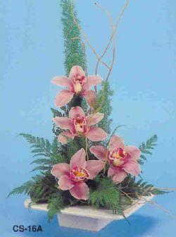 Dikmen Ankara çiçek gönder uluslararası çiçek gönderme  vazoda 4 adet orkide