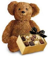 çikolata ve oyuncak ayicik Dikmen Akpınar Ankara  hediye sevgilime hediye çiçek