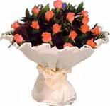 11 adet gonca gül buket  Ankara Dikmen Osmantemiz online çiçek gönderme sipariş