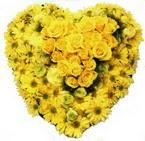 kalp biçiminde sevgisel  Dikmen Ankara çiçek gönder uluslararası çiçek gönderme