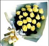 sari güllerden sade buket Öveçler Dikmen anneler günü çiçek yolla