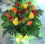 13 adet karisik gül buketi demeti  Ankara Dikmen çiçek yolla