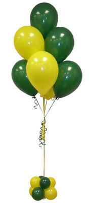 Sevdiklerinize 17 adet uçan balon demeti yollayin.  Dikmen Akpınar Ankara  hediye sevgilime hediye çiçek