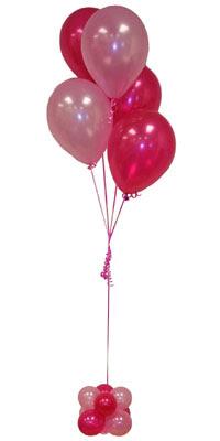 Sevdiklerinize 17 adet uçan balon demeti yollayin. çiçekçi Dikmen çiçek servisi , çiçekçi adresleri