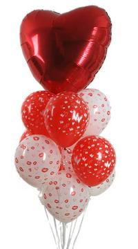 Sevdiklerinize 17 adet uçan balon demeti yollayin.  Dikmen ankara çiçek mağazası , çiçekçi adresleri