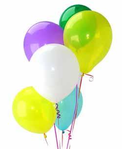Dikmen Keklikpınarı çiçek siparişi vermek  Sevdiklerinize 17 adet uçan balon demeti yollayin.