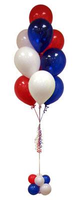 Dikmen Keklikpınarı çiçek online çiçek siparişi  Sevdiklerinize 17 adet uçan balon demeti yollayin.