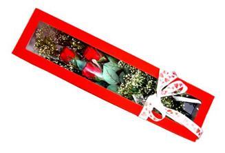 Dikmen Keklikpınarı çiçek online çiçek siparişi  Kutuda 3 adet gül