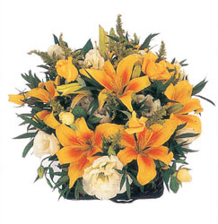Ankara Dikmen Osmantemiz online çiçek gönderme sipariş  Karisik mevsim sepeti