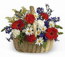 ankara çiçekçi Dikmen ucuz çiçek gönder  Karisik mevsim çiçek sepeti