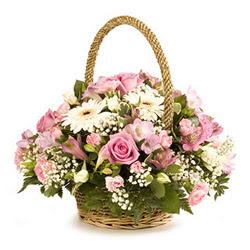 Ankara Dikmen İlker çiçek yolla , çiçek gönder , çiçekçi   Gül ve gerberalardan çiçek aranjmani