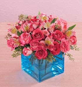 Ankara Dikmen İlker çiçek yolla , çiçek gönder , çiçekçi   13 adet kirmizi gül ve cam yada mika vazo