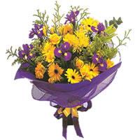 Ankara Dikmen Osmantemiz online çiçek gönderme sipariş  Karisik mevsim demeti karisik çiçekler