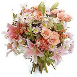 Ankara Dikmen Osmantemiz online çiçek gönderme sipariş  Karisik kir çiçeklerinden görsel demet