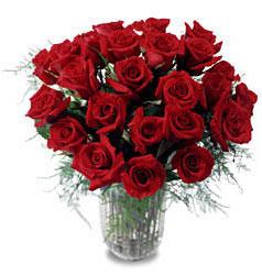 Ankara Dikmen Osmantemiz online çiçek gönderme sipariş  11 adet kirmizi gül cam yada mika vazo içerisinde