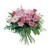 karisik kir çiçek demeti Ankara Dikmen 14 şubat sevgililer günü çiçek