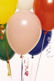 Dikmen Keklikpınarı çiçek online çiçek siparişi  19 adet renklis latex uçan balon buketi