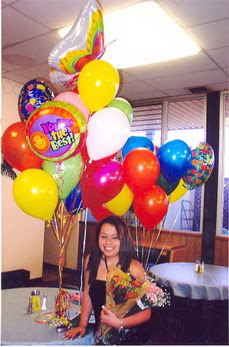Ankara Dikmen kaliteli taze ve ucuz çiçekler  49 adet karisik renkte uçan balonlar buketi