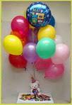 ankara çiçek yolla Dikmen malazgirt çiçekçi telefonları  25 adet uçan balon ve 1 kutu çikolata hediye