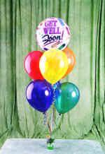 Dikmen İlker internetten çiçek siparişi  18 adet renkli uçan balon hediye ürünü balon