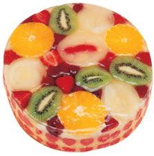 Meyvali 4 ile 6 kisilik yas pasta leziz Dikmen Keklikpınarı çiçek online çiçek siparişi