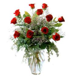 Vazo içerisinde 11 kirmizi gül Ankara çiçek satışı Dikmen online çiçekçi , çiçek siparişi