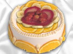 leziz pastane 4 ile 6 kisilik yas pasta meyvali yaspasta Dikmen Naciçakır çiçekçi mağazası