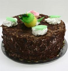 4 ile 6 kisilik yas pasta çikolatali leziz pastane ürünü Dikmen İlkadım çiçek gönderme sitemiz güvenlidir