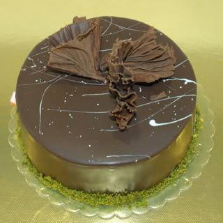 pastaci ustamizdan 4 ile 6 kisilik fistikli çikolatali yaspasta ankara çiçekçi Dikmen ucuz çiçek gönder