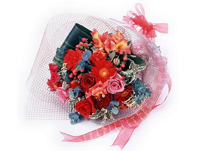 Karisik buket çiçek modeli sevilenlere Ankara Dikmen çiçek yolla