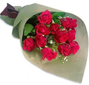 Uluslararasi çiçek firmasi 11 adet gül yolla Ankara Dikmen Mürseluluç hediye çiçek yolla