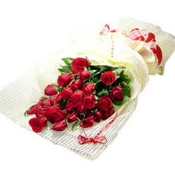 Çiçek gönderme 13 adet kirmizi gül buketi Ankara Dikmen 14 şubat sevgililer günü çiçek