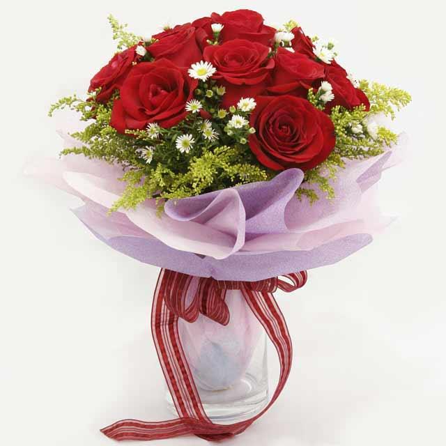 Çiçek gönderme estetikliginiz 11 gül buket çiçekçi Dikmen çiçek servisi , çiçekçi adresleri