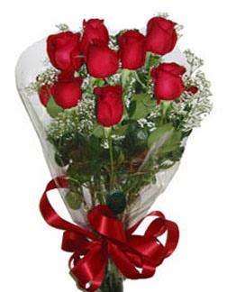 Çiçek sade gül buketi 7 güllü buket Ankara Dikmen İlker çiçek yolla , çiçek gönder , çiçekçi