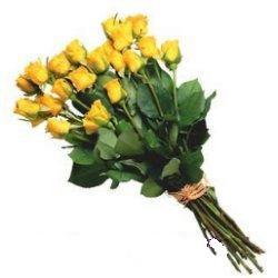 Dikmen ankara çiçek siparişi çiçek gönderme  12 adet sari gül buketi özel