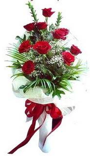 Dikmen Akpınar Ankara  hediye sevgilime hediye çiçek  10 adet kirmizi gül buketi demeti