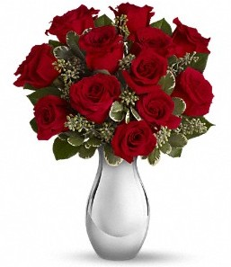 Ankara çiçek satışı Dikmen online çiçekçi , çiçek siparişi   vazo içerisinde 11 adet kırmızı gül tanzimi