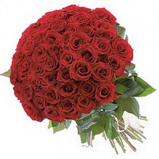 Ankara Dikmen çiçek siparişi sitesi  101 adet kırmızı gül buketi modeli