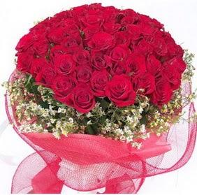 Ankara Dikmen öveçler çiçekçiler  29 adet kırmızı gülden buket