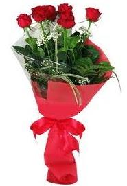 Çiçek yolla sitesinden 7 adet kırmızı gül Ankara Dikmen kaliteli taze ve ucuz çiçekler