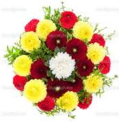 çiçekçi Dikmen çiçek servisi , çiçekçi adresleri  13 adet mevsim çiçeğinden görsel buket
