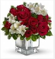 11 adet kırmızı gül ve beyaz kır çiçekleri Dikmen ankara çiçek siparişi çiçek gönderme