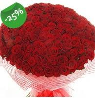 151 adet sevdiğime özel kırmızı gül buketi Dikmen ankara çiçek mağazası , çiçekçi adresleri