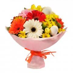 Karışık mevsim buketi Mevsimsel çiçek Aşağı Dikmen ankara çiçekçi telefonları yurtiçi ve yurtdışı çiçek siparişi