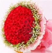 101 adet kırmızı gülden buket Dikmen Harbiye ankara İnternetten çiçek siparişi