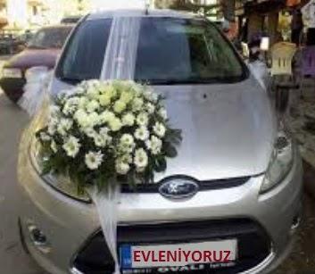 Dikmen Akpınar Ankara  hediye sevgilime hediye çiçek  Gelin arabası süslemesi